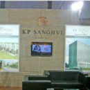 KP Sanghvi Infrastructure exhibition stall design