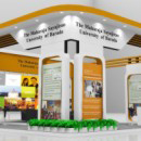 The Maharaja Sayajirao University of Baroda exhibition stall design