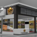 Saurashtra University exhibition stall design