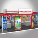Government Technical Institutions exhibition stall design
