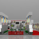 Higher & Technical Education exhibition stall design
